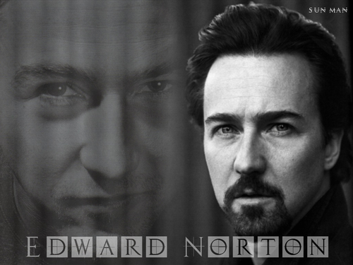 Edward Norton Обои entitled Edward Norton