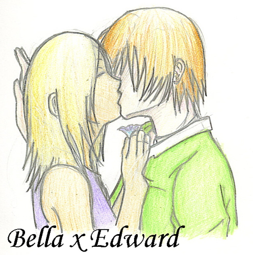 Edward and Bella-soooooo cute