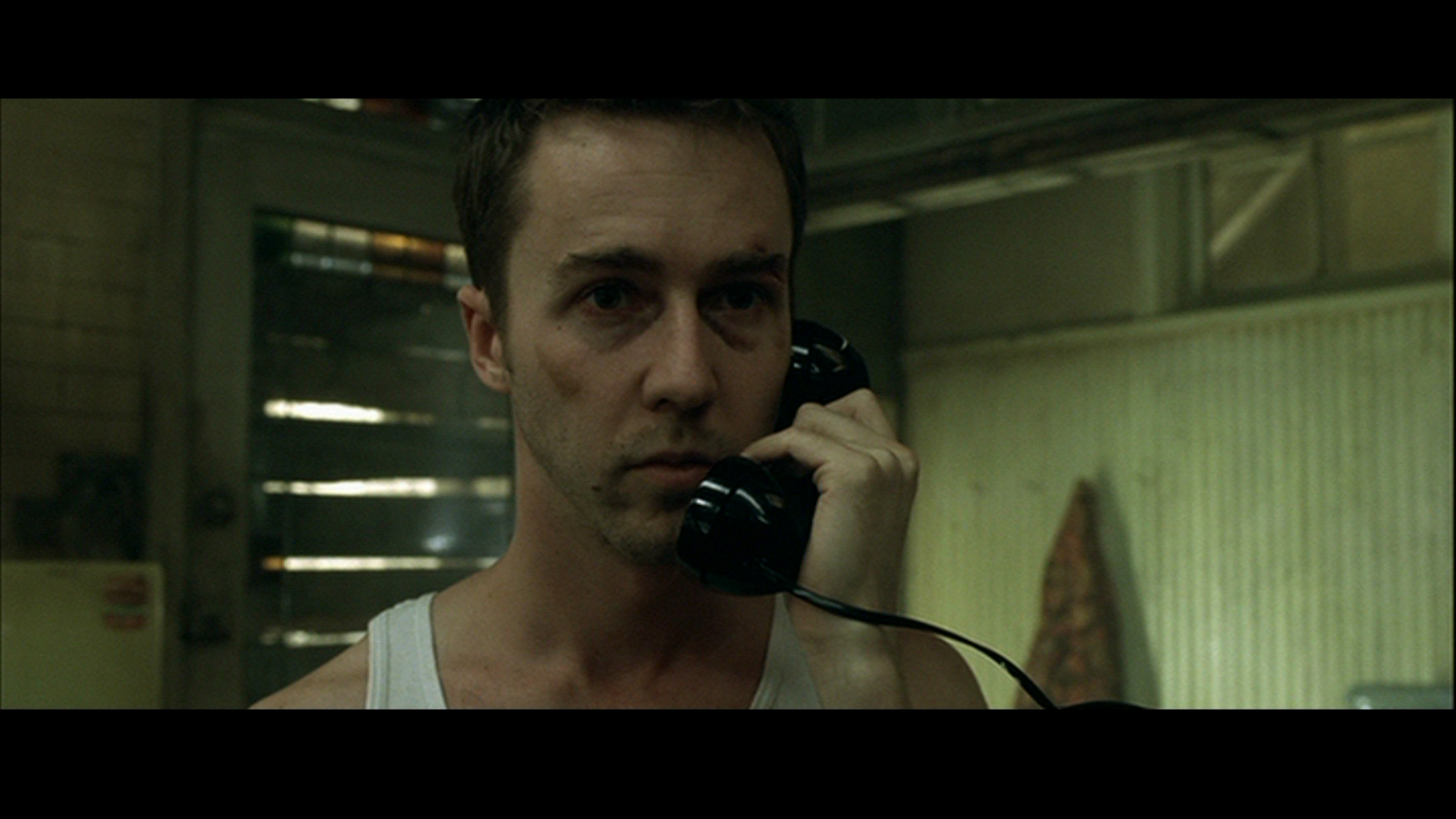 Edward in Fight Club