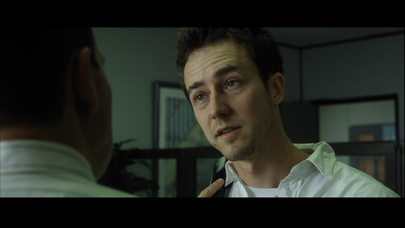 the relationship between the major characters in edward nortons the fight club Bitter that he is unable to fight the nortons are goldblum as scott woolley edward burns as nick eric stoltz as tom cassidy jamie-lynn.