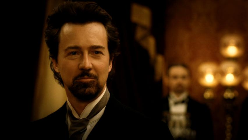 Edward in The Illusionist