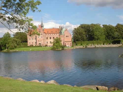 Egeskov قلعہ