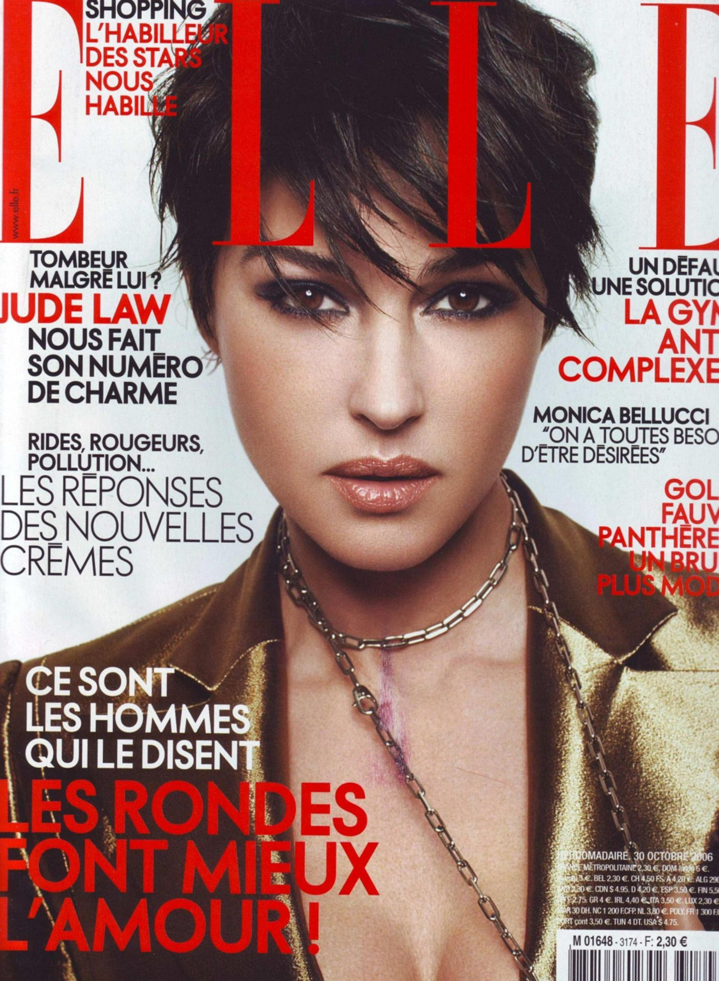Elle Magazine France February March: Monica Bellucci Photo (235165)