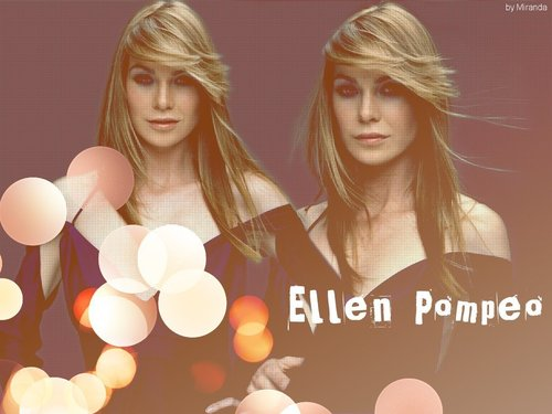 Grey's Anatomy wallpaper titled Ellen Pompeo