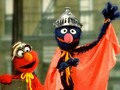 Elmo &amp; Super Grover - sesame-street photo