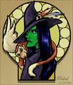 Elphaba - wicked fan art