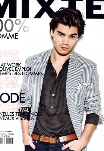 Emile in a magazine