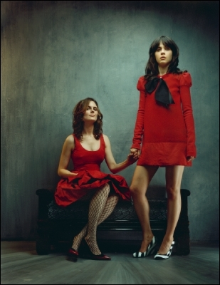 love zooey emily Zooey and Emily Deschanel