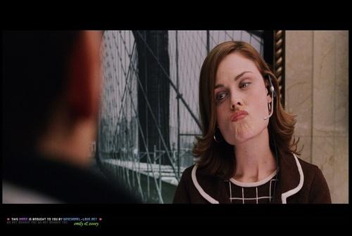 Emily in Spiderman