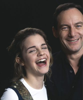 Emma Watson and Jason Issacs
