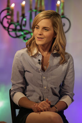 Emma on the Today mostra
