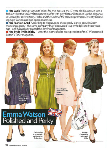 Emma's Many Styles