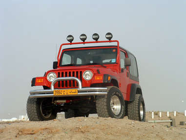 Emmett's Jeep