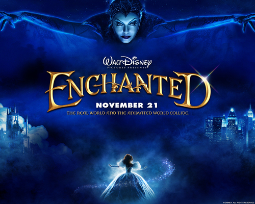 Disney پیپر وال called Enchanted