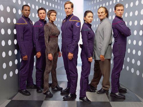 étoile, étoile, star Trek - Enterprise fond d'écran entitled Enterprise 1