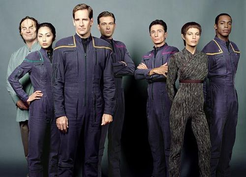 stella, stella, star Trek - Enterprise wallpaper titled Enterprise crew