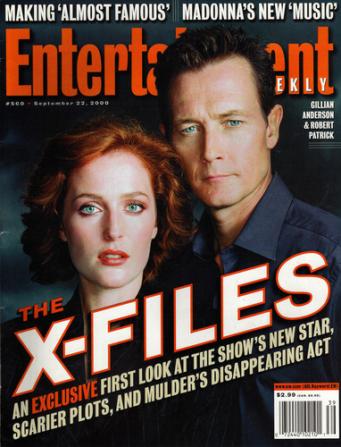 The X-Files wallpaper called Entertainment Weekly