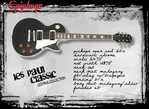 EpiPhone Les Paul classic plus