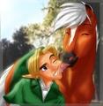 Epona and Link