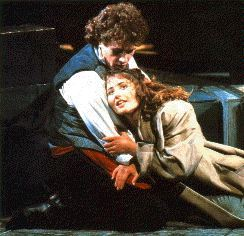 Eponine and Marius
