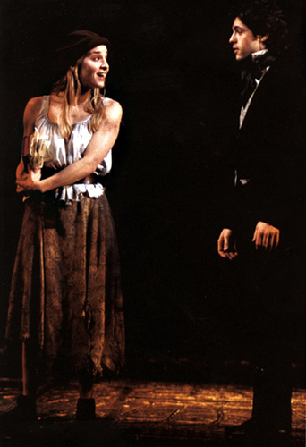 Les Miserables wolpeyper titled Eponine and Marius