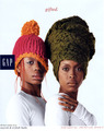 Erykah & Nayrok Badu - gap photo