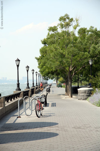 Esplanade in Battery Park City