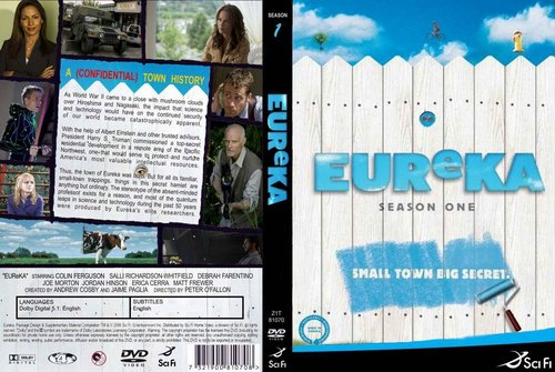 Eureka wallpaper entitled Eureka DVD Cover