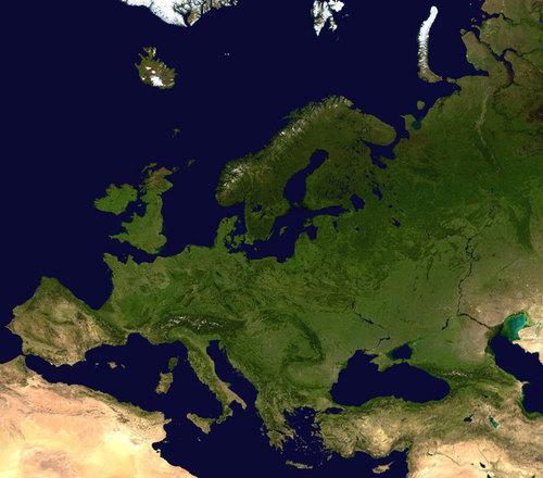 欧洲 satellite