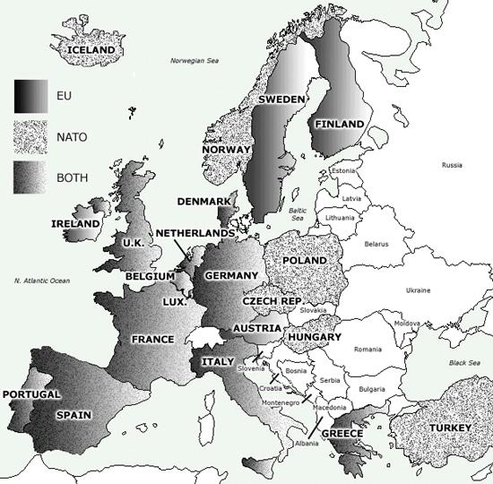 European Politics Map