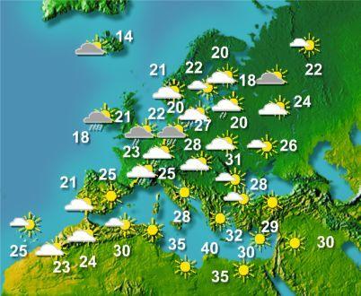 Европа Обои titled European weather