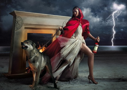 Eva Mendes for Campari