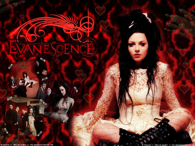 Evanescence and amy lee photo gallery