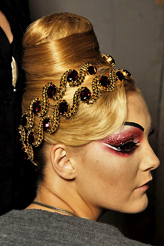 F/W 07/08 Couture: Backstage