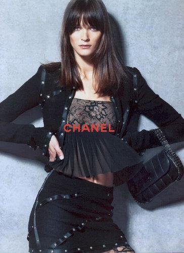F/W 2003 Ad: Carmen Kass