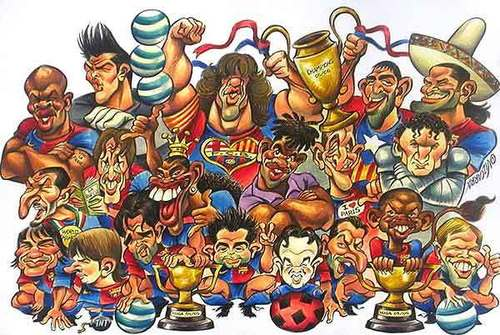 FC Barcelona Players