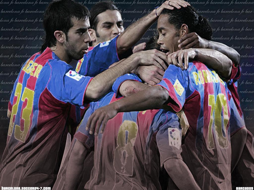 FC Barcelona پیپر وال