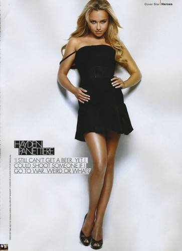 Hayden Panettiere wallpaper titled FHM October 2007
