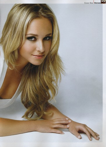 Hayden Panettiere wallpaper entitled FHM October 2007