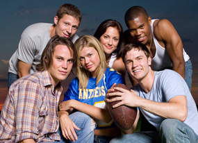 Friday Night Lights wallpaper titled FNL cast