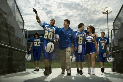 Friday Night Lights 바탕화면 titled FNL cast