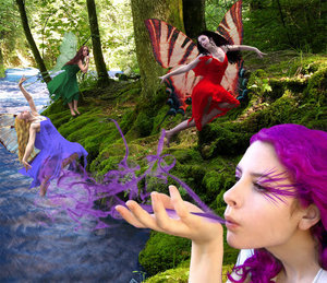 Fairies wallpaper titled Fairies