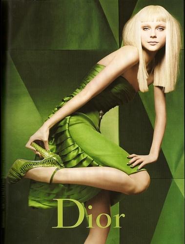Fall 2007 Ad: Jessica Stam
