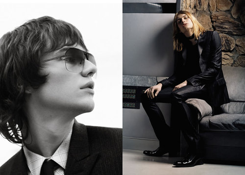 Dior wallpaper entitled Fall/Wint 2005 Dior Homme Ad