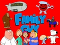 Family Guy (Red Background)