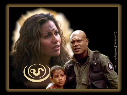 Stargate wallpaper entitled Family