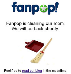 Fanpop is Cleaning