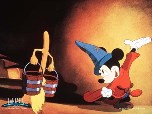 Disney karatasi la kupamba ukuta entitled Fantasia