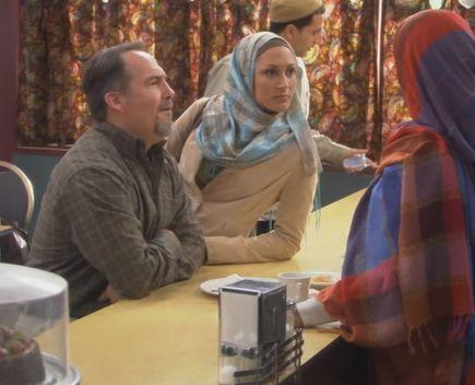 Fatima, Rayyan, Fred in Café!