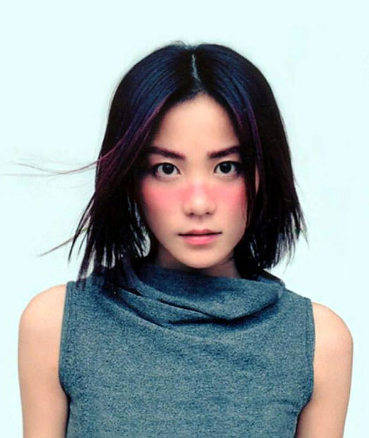 faye wong a famous chinese female vocalist a singer and